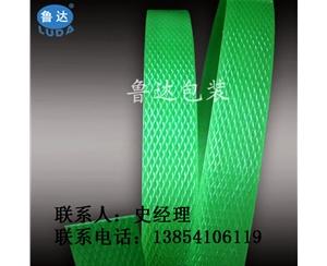 厂家直销供应塑钢带打包带 绿色塑钢打包带