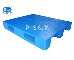 电商用塑料托盘——川字平板塑料托盘1210塑料托盘