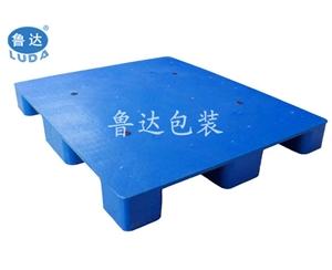 九脚平板塑料托盘——1008九脚塑料托盘 印刷行业用托盘